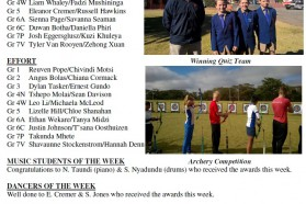 Newsletter No 13 2nd Term 2017